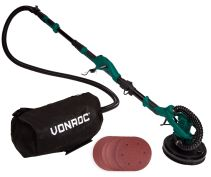 Telescopic Drywall Sander 1050W-225mm | Incl. dust collection bag