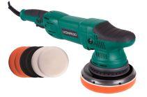 Dual action polisher 1050W - 150mm | Incl. 7 polishing pads