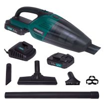 Handheld vacuum cleaner 20V - 2.0Ah | Incl. 2 batteries and charger
