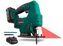 Jig saw 20V - 2.0Ah | Incl. battery and charger