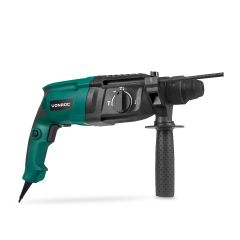 Rotary hammer drill 800W – 3 Joule – SDS plus | Incl. keyed drill chuck