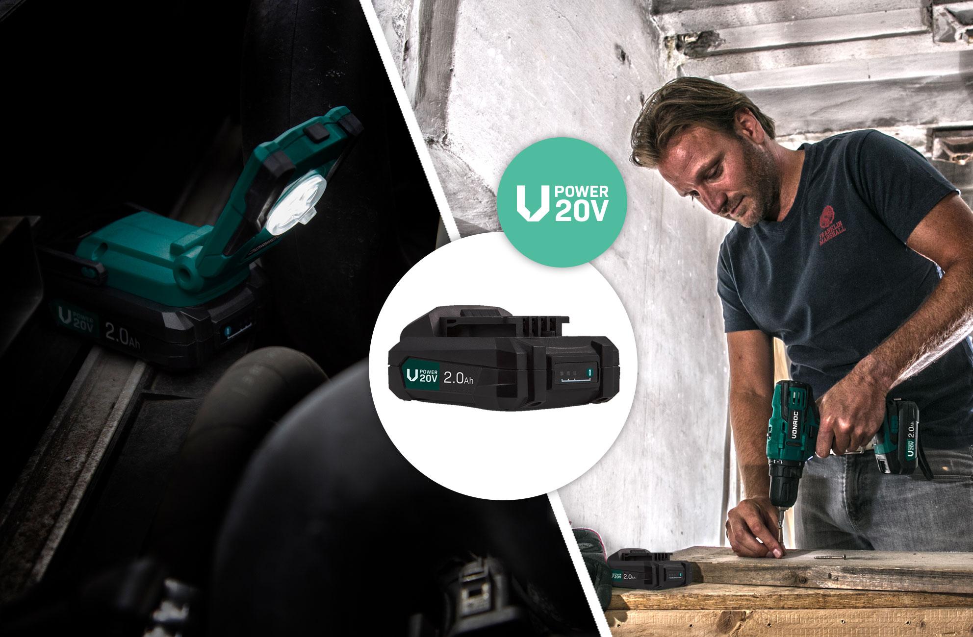 VPower 20V Platform - FR/BE>